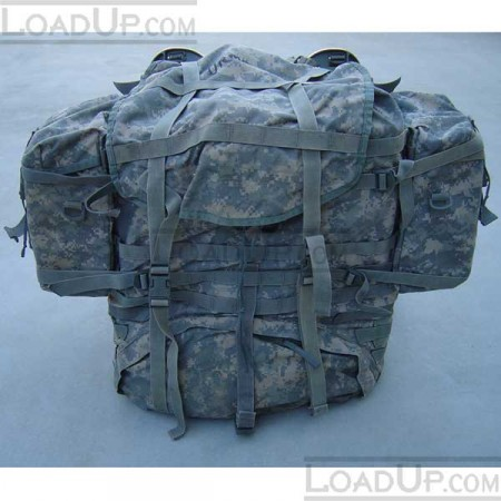 US Military MOLLE II Rifleman Backpack and Sustainments ACU
